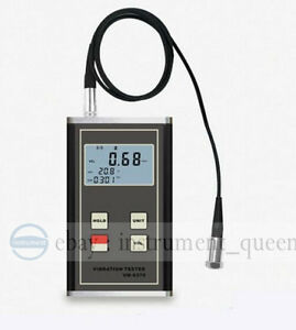 Landtek Vm 6370 Vibration Meter Moving Machinery Imbalance And Deflecting
