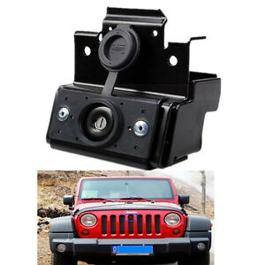 Jeep Wrangler Jk Unlimited Hood Lock W Keys Anti Theft Kit Assembly Set