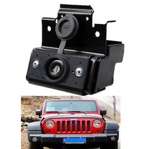 Hood Lock W keys Kit Assembly Jeep Wrangler Jk Sahara Rubicon Unlimited
