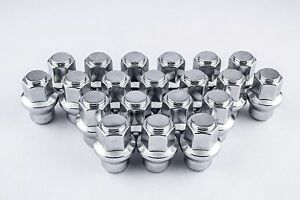 20 14x1 5 Dodge Charger Lug Nuts For Factory Steel Wheels With Hub Caps W60259