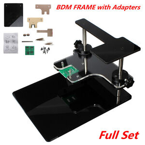 Full Set Obd2 Diagnostic Bdm Frame With Adapters For Bdm 100 Cmd Original Fgtech