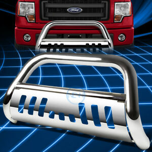 Chrome Ss Front Bumper Bull Bar Grille Guard For 2011 2016 Ford Explorer U502