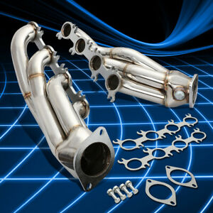 Stainless Shorty Header Exhaust Manifold For 2011 2014 Mustang Gt Boss 302 5 0