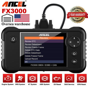 Obdii Obd2 Code Reader Engine Light Diagnostic Scanner I m Readiness Live Data