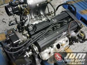 96 97 98 Honda Crv 2 0l Dohc Low Compression High Intake Engine Jdm B20b