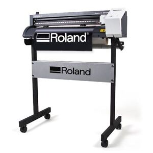 Roland Camm 1 Gs 24 Vinyl Cutter Plotter For Decals Heat Transfer Press Kit