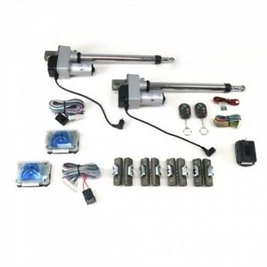 Autoloc Autgwkitdd Automatic Gullwing Door Conversion Kit With Remotes Rat Hot