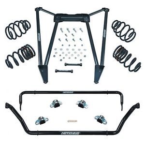 2010 Camaro Track Pack Hotchkis Tvs total Vehicle Suspension System