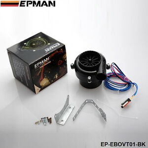 Universal Car Fake Dump Electronic Bov Turbo Blow Off Hooter Valve Analog Sound