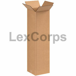 25 Qty 8x8x30 Shipping Boxes Lc Mailing Moving Cardboard Storage Packing