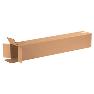 25 Qty 6x6x36 Shipping Boxes Lc Mailing Moving Cardboard Storage Packing