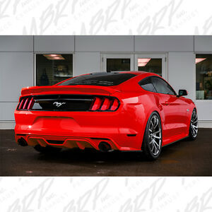 Mbrp 2015 2017 Ford Mustang Gt 5 0l V8 3 Race Catback Exhaust System Black Blk