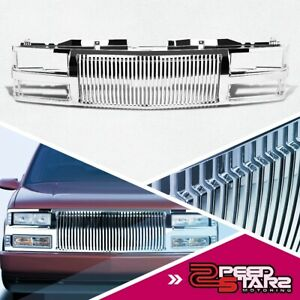 For 94 00 Chevy C10 tahoe blazer Chrome Abs Bumper hood Upper Grill Guard Frame