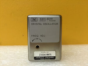 Hp agilent 10811 60111 10 000 Mhz Precision Quartz Crystal Oscillator Tested