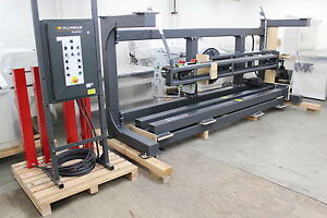 2006 Wulftec Wrt 200 Semi auto Rotary Arm Stretch Wrapper