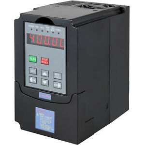 2 2kw Vfd Inventer Variable Frequency Drive 220v 10a 3hp Single To 3 Phase Us