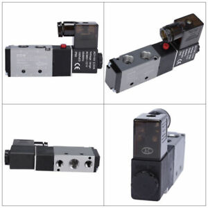 Air Solenoid Valve Directional Control 110v Ac 1 4 Pneumatic 4 Way 2 Position