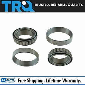 Front Or Rear Inner Or Outer Wheel Bearing Race Set Pair For Dodge Ford Jeep