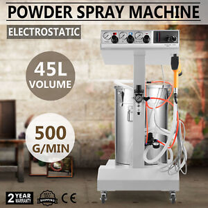 Powder Coating System With Spraying Gun Electrostatic Machine 110v Wx 101 Diy