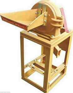 New Grain Grinding Machine Commercial Corn Powder Making Machine Grain Crusher