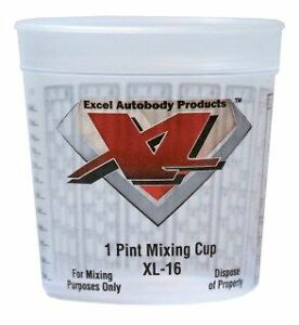 Paint Pint Mixing Cups 100 Pint Mixing Cups