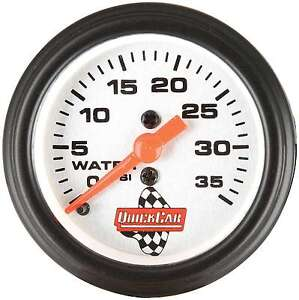 Quickcar Racing Products 611 6008 Water Pressure Gauge 2in