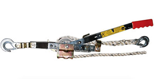 Winch Rope Puller Hoist Lever Come alongs Haul Vehicles Cable Pulley Tackle Tree
