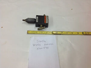Enerpac Wvp5 Wvp 5 Hydraulic Cylinder Pressure Sequence Valve 5000 Psi Used