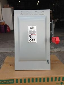 Siemens 60a 600v 3p Disconnect Switch Hf362