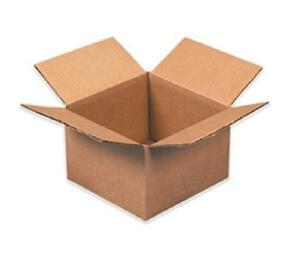 Shipping Boxes 25 Pack 6x6x4 Mailing Moving Box Cardboard Storage Carton Packing