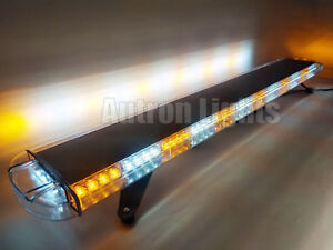 55 104 Led Emergency Flash Tow plow Truck Response Amber White Strobe