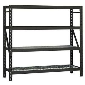 Adjustable Garage Rack Shelves Warehouse Office Factory Restaurant Storage 4 tie