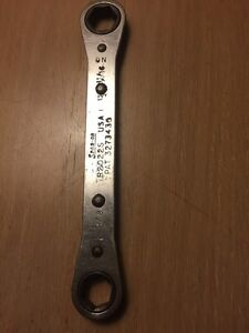 Vintage Snap On Tools 5 8 11 16 box Ratcheting Wrench 6point R2022s Standard