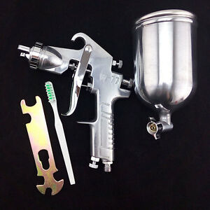 Pneumatic Air Tool Spray Paint Gun W 77 Nozzle 2 0mm 2 5mm 3 0mm 3 5mm 4mm