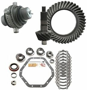 1973 1988 Chevy 14 Bolt Gm 10 5 4 11 Ring And Pinion Grizzly Locker Gear Pkg