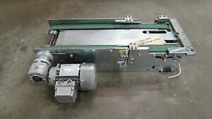 Carpanelli Double Belt Electric Conveyor System 23 1 2 x1 3 4 220 440v 950fp