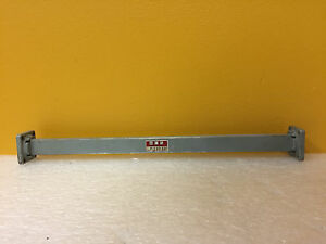 Mcs P 110 12 wr 62 12 4 To 18 Ghz 12 L Waveguide Straight Section