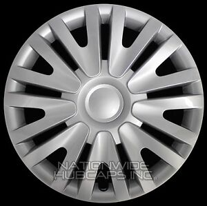 15 Set Of 4 Vw Golf Jetta Wheel Covers Full Rim Hub Caps Fit R15 Steel Wheels