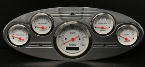 1932 1933 1934 Ford Truck 5 Gauge Dash Panel Insert Polished Programmable Metric