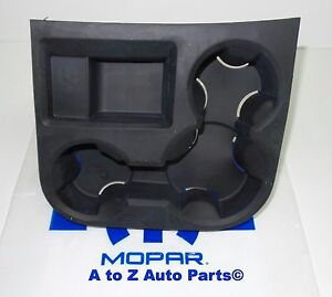 New 06 08 Dodge Ram 1500 06 09 Dodge Ram 2500 Cup Holder Liner Insert Oem