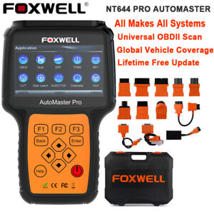 Foxwell Nt644 Obd Obd2 Automotive Scanner All System Code Reader Diagnostic Tool