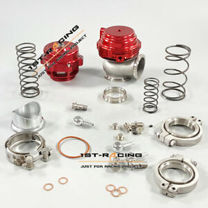 50mm Blow Off Valve Bov And External 44mm Water Cold Wastegate Red