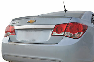 Painted Chevrolet Cruze Flush Mount Style Rear Wing Spoiler 2011 2015