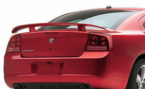 Painted To Match Dodge Charger Factory Style Rear Wing Spoiler 2006 2010