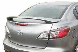 Painted Mazda 3 Factory Style Rear Wing Spoiler 2010 2013