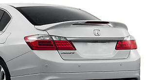 Painted To Match Rear Spoiler For A Honda Accord 4 door Factory Style 2013 2017