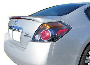 Painted Rear Wing Spoiler For A Nissan Altima 4 Door Factory 2007 2012