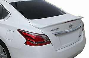 Painted To Match Rear Wing Spoiler For A Nissan Altima Sedan Factory 2013 2015