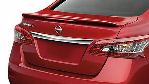 Painted Rear Wing Spoiler For A Nissan Sentra Pulsar Factory Style 2013 2018