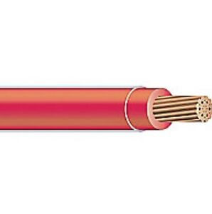 100 Thhn Thwn 8 Awg Gauge Red Nylon Pvc Stranded Copper Building Wire